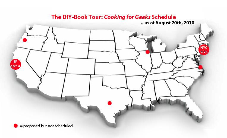 The D.I.Y. Book Tour — Where should I go??