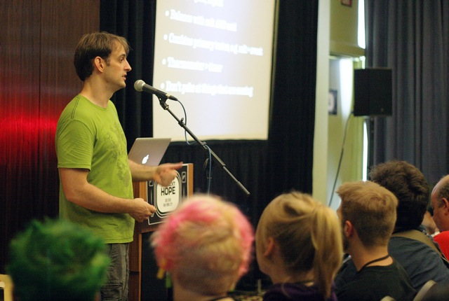 Video of Cooking for Geeks talk at Next HOPE