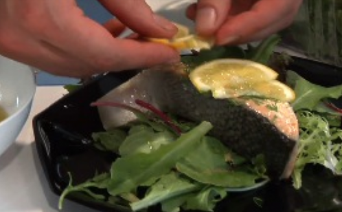 Poaching Salmon… Using the Office Toaster Oven