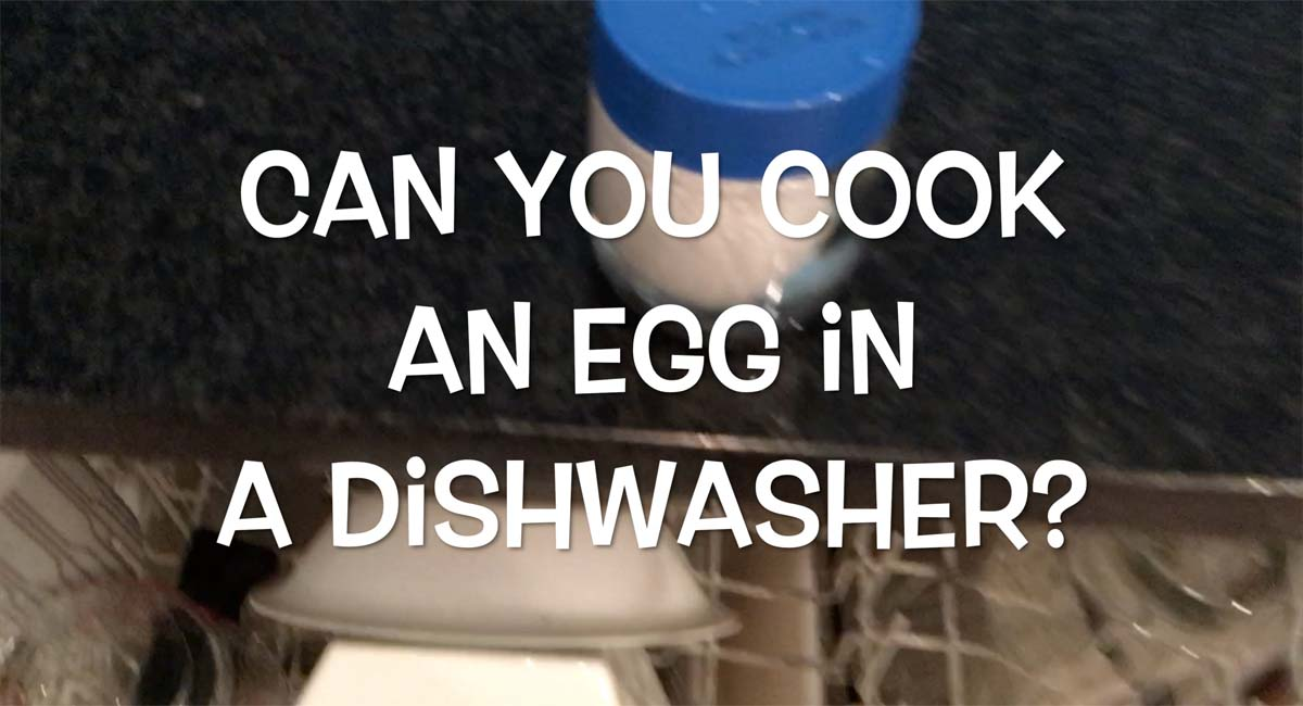 Can You Cook an Egg in a Dishwasher